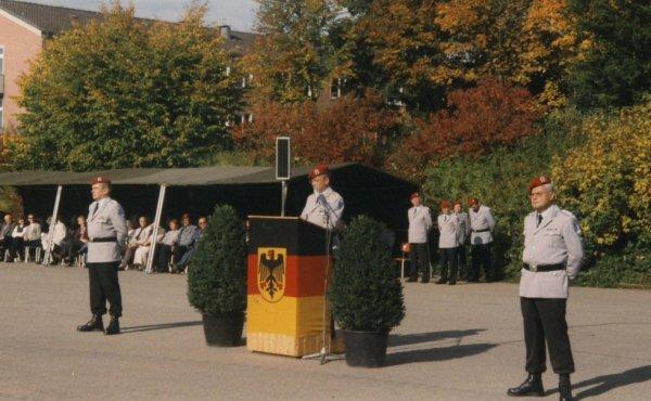 Kommandoübernahme am 01.Oktober 1996