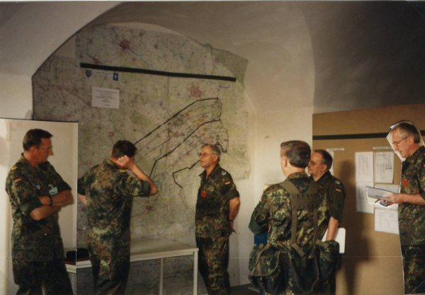 "Übung Logistikbrigade 2 ""Lange Wege 1997"""