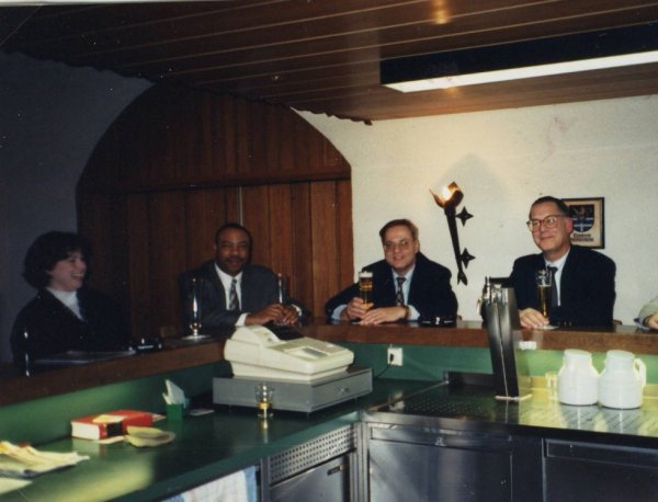 Partnership Meeting Stengel Kaserne Germersheim 09.03.1999