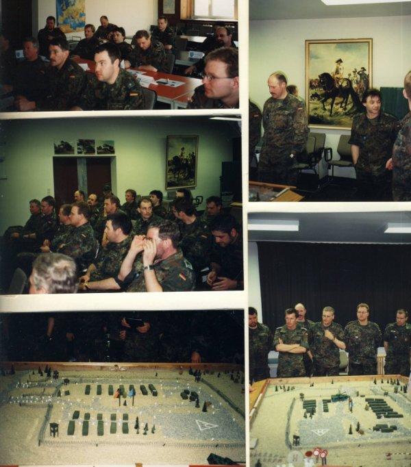 Ausbildungstag im Mobstützpunkt Dillingen u. bei 2./TrpBtl 210 Dornstadt vom 12.-14.März 1999