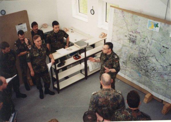 "Übung Logistikbrigade 2 ""Lange Wege 1999"" 26.04.-07.05.1999"