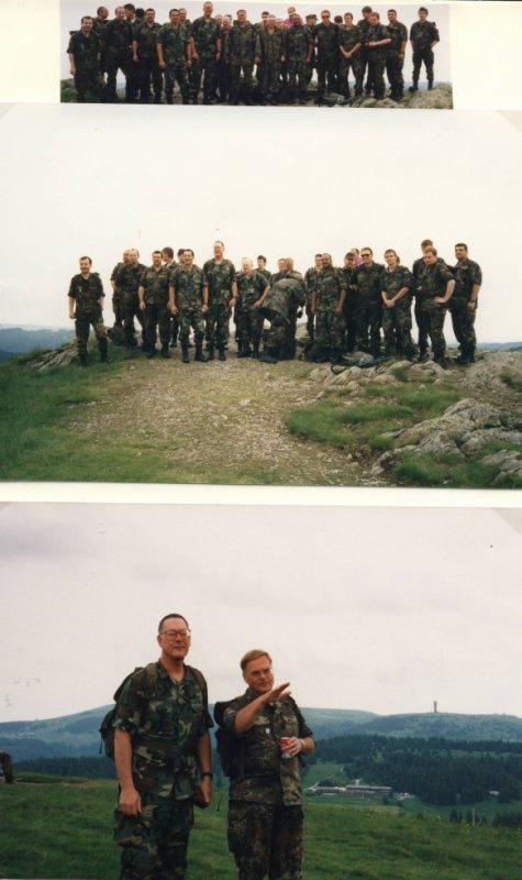 Mountain Training LogRgt 22 mit 5115th HQ USAEUR(AUG) vom 18.- 20.Juni 1999 in Todtnau-Fahl