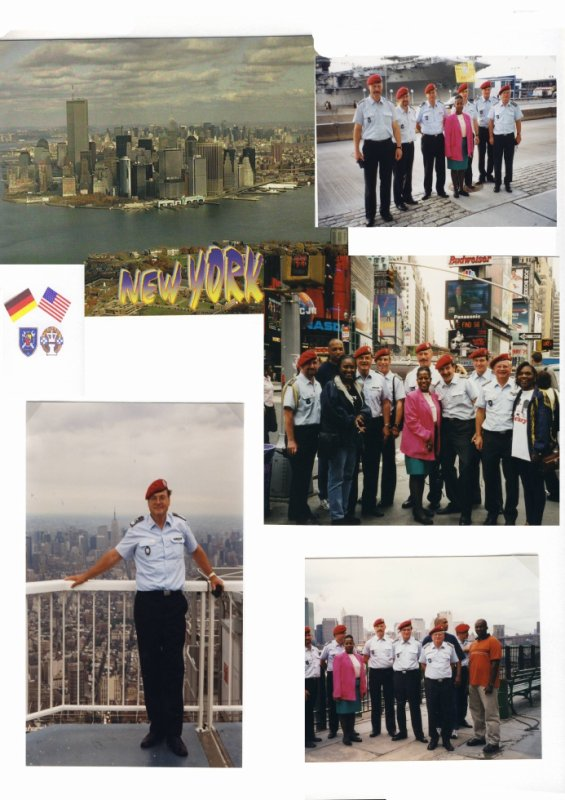 Partnership Training in New York am 19.Juni 2000