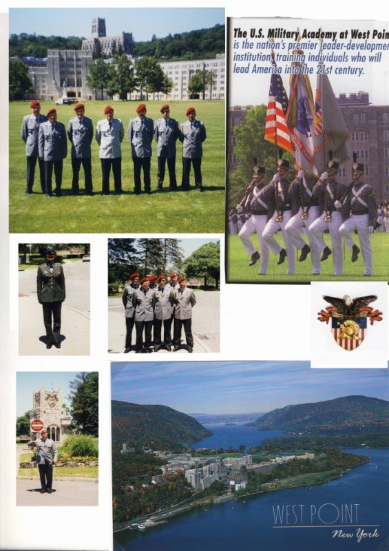 Partnership Training in West Point am 20.Juni 2000