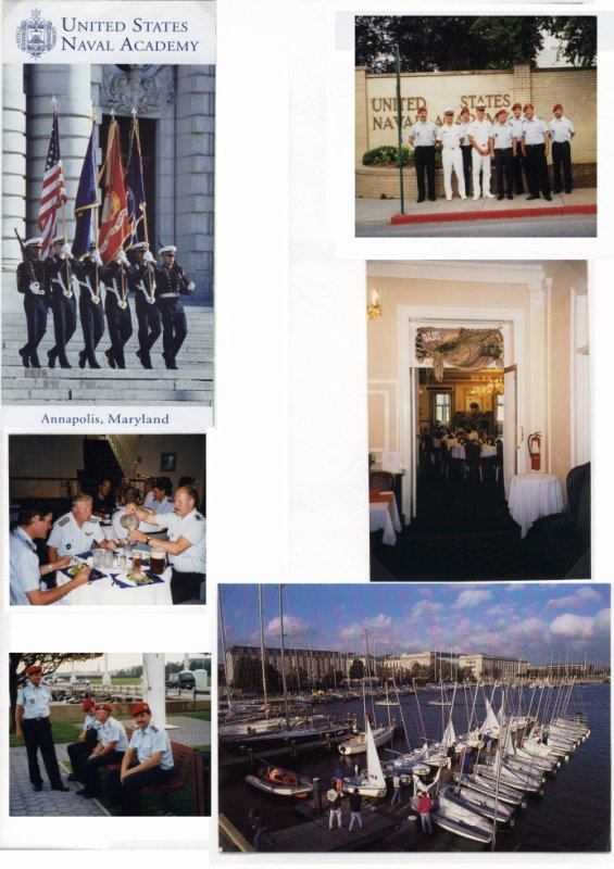 Partnership Training an der Naval Academy in Annapolis (Maryland) am 21.Juni 2000