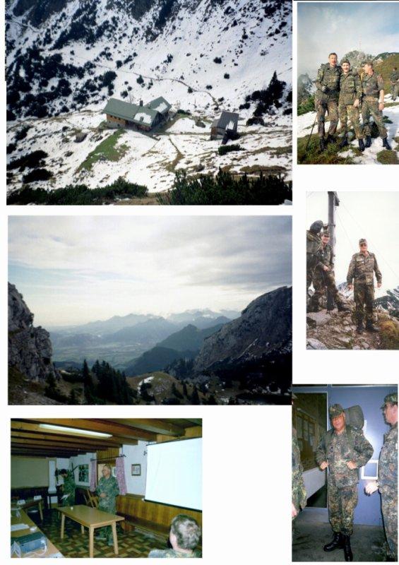 Sachstandsbesprechung MobVorbereitung naTrTle LogBrig 2 auf der Soinhütte im Wendelsteingebirge vom 04.-06.10.2002