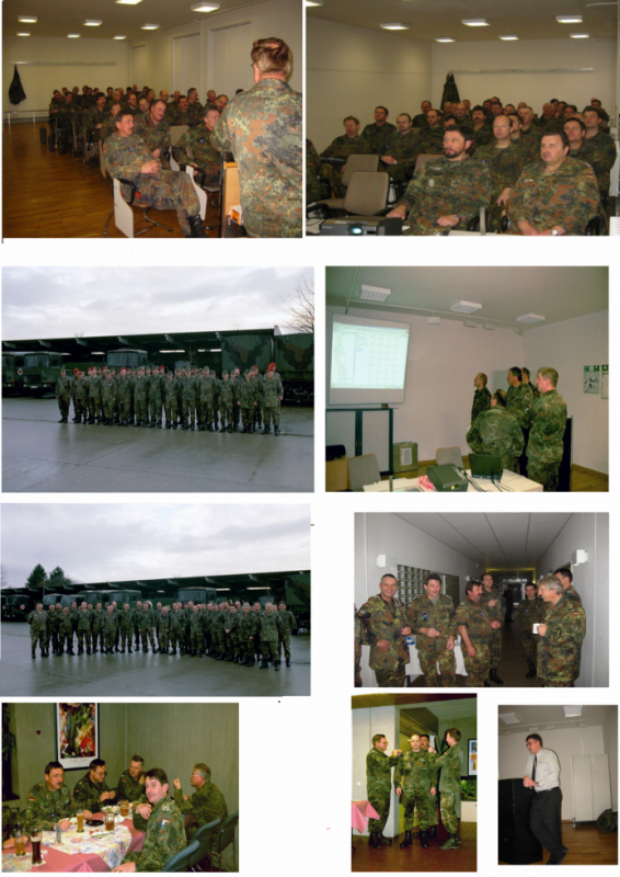 Jahresabschlusswehrübung des LogRgt 22 in Dornstadt vom 29.-30.11.2002