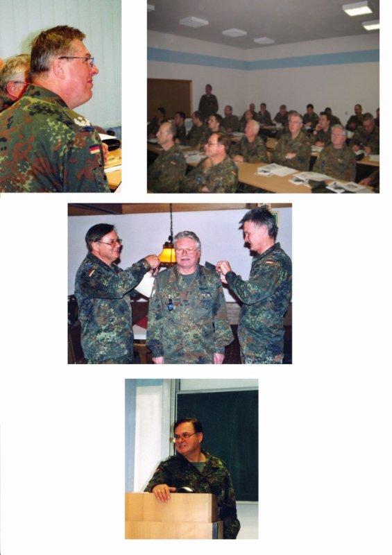 Begrüßung TrpBtl 280, NachschubBtl 73 und NachschubBtl 141 in Dornstadt am 28.-29.11.2003