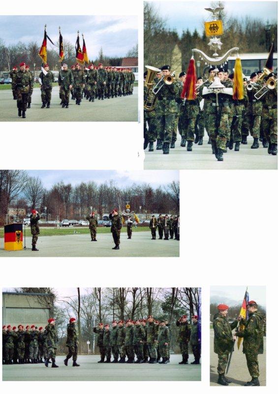 Übergabe des Kommandos LogRgt 22 von Oberst Endrich an Oberstleutnant Rieger  am 19.-20.03.2004 in Dornstadt