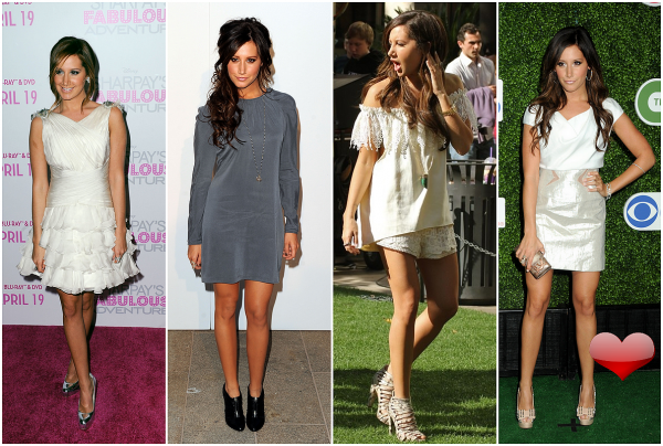 Les looks de ... Ashley Tisdale