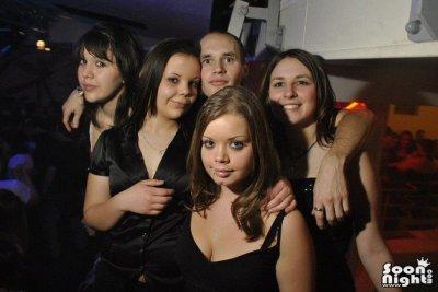 moi et 4 superbe belle fille que jtd grv