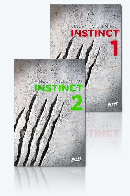 Instinct : 2 tomes déjà prêts à être dévorés !