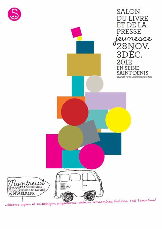 Venez rencontrer nos auteurs au salon du livre et de la presse jeunesse à Montreuil !
