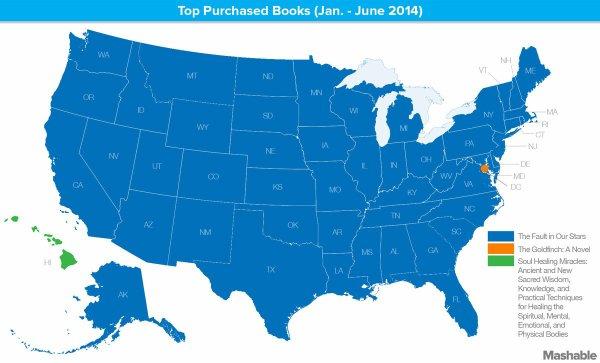Nos étoiles contraires, livre le plus acheté aux Etats-Unis !