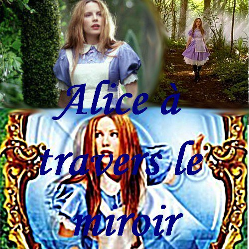 Alice travers le miroir le cin ma un monde merveilleux for A travers le miroir