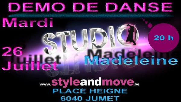 Saison 2011 Madeleine - 8 jours du 21 au 28 Juillet 2011 - démo de danse