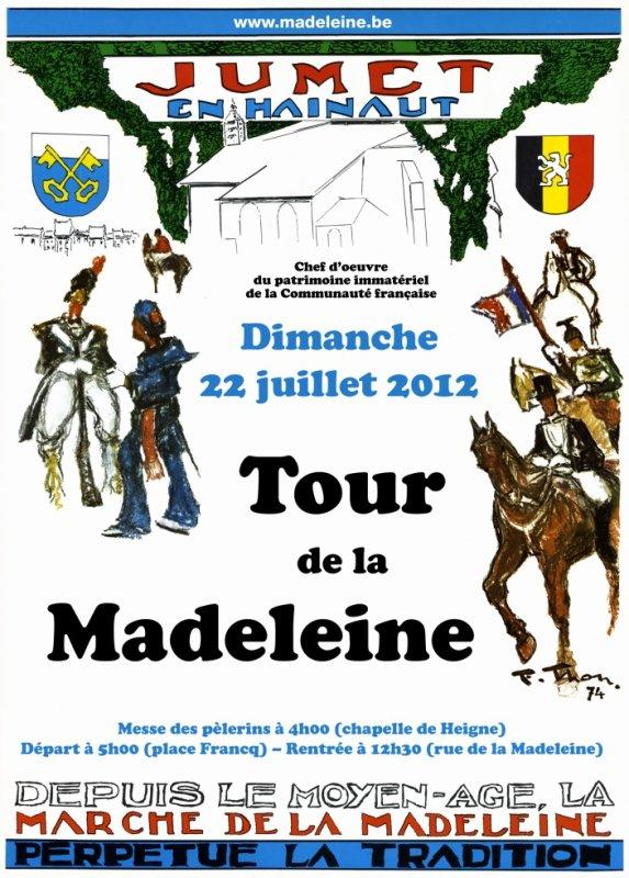 Madeleine Jumet - 7 jours festivités du 20 au 26 juillet 2012