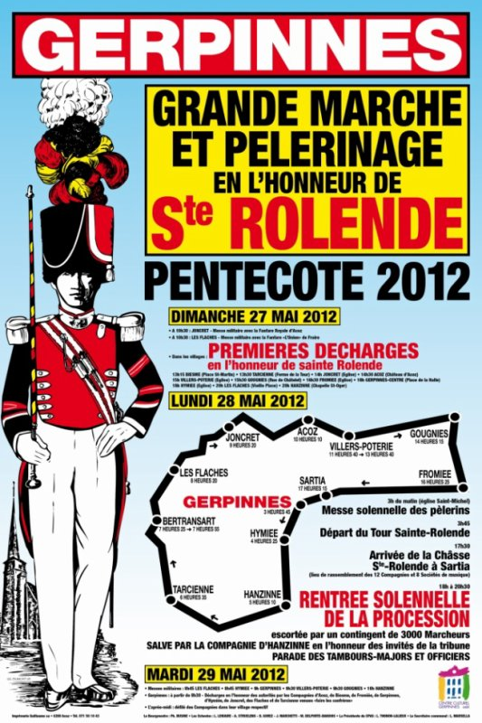 Sainte-Rolende saison 2012 Pentecôte