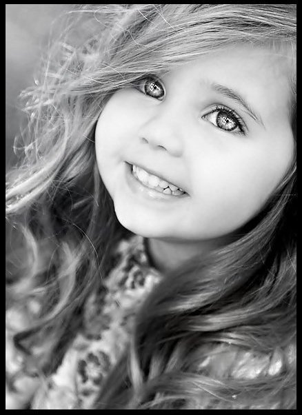 Little Girl Smille
