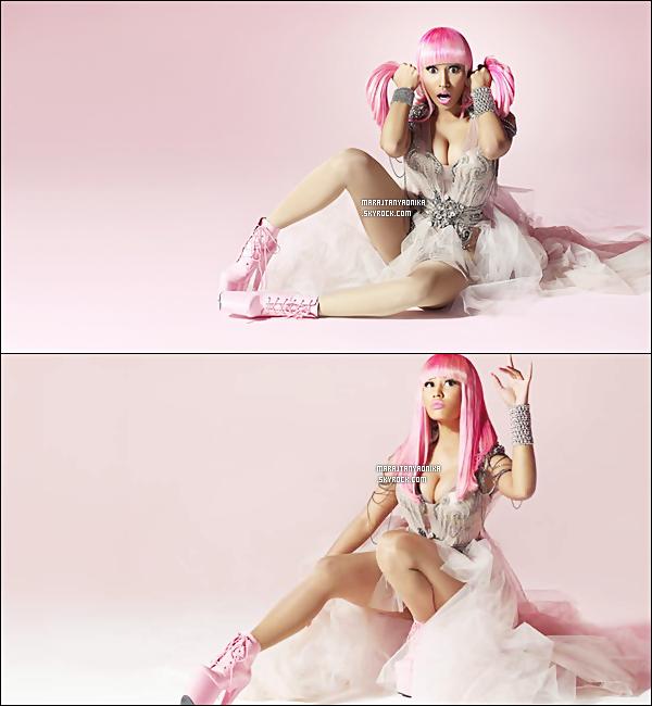 . .Découvrez les photos promotionelle du dernière album « Pink Friday »  de Nicky M. Sortie le 22/11/2010..