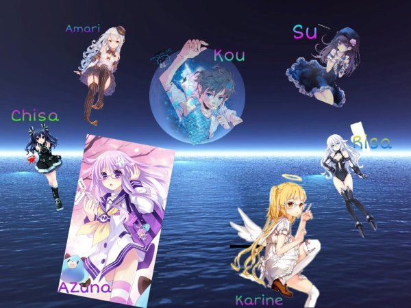 Zenkō no seifuku nouvelle petite fanfiction