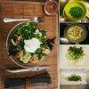 Salade de crevettes à s't'ap le popotin à terre