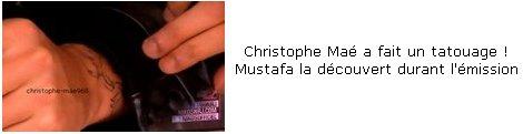 CHRISTOPHE MAE  :D