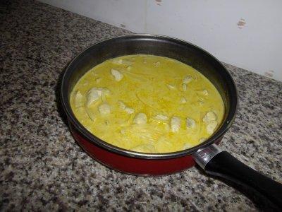 émincée de volaille au curry