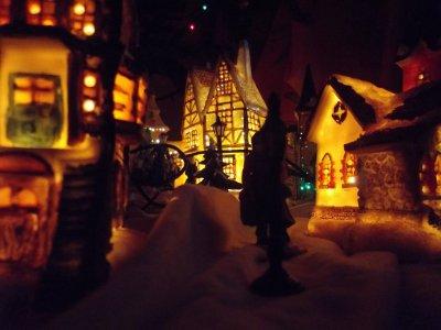 notre sapin et son village