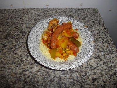 couscous maison (fait par ma petite femme)