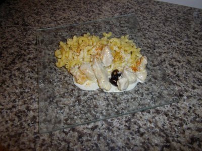 Emincer de poulet grogonzola