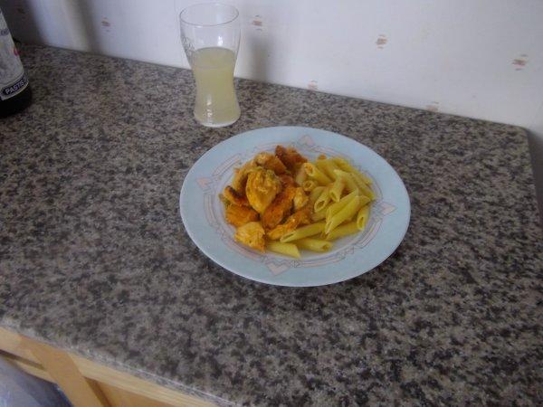 poulet façon tandoori