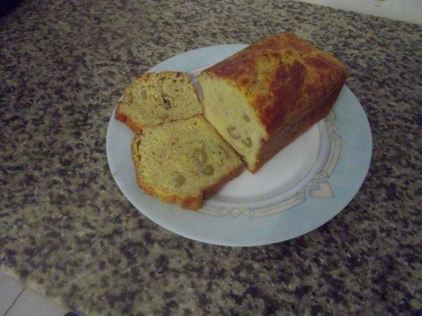 cake au tohn olive verte