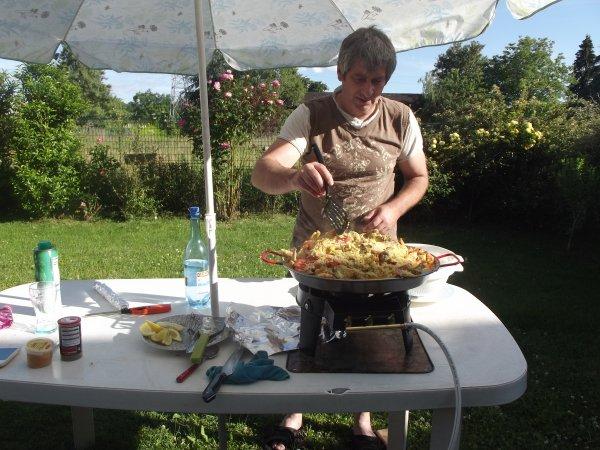 Paella pour 10 personnes
