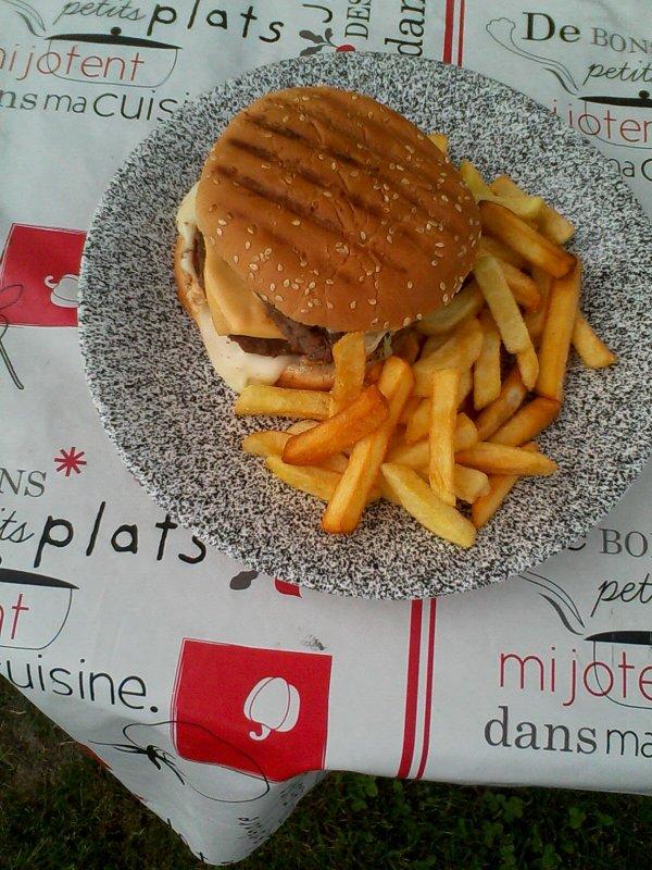 Mes hamburgers géants