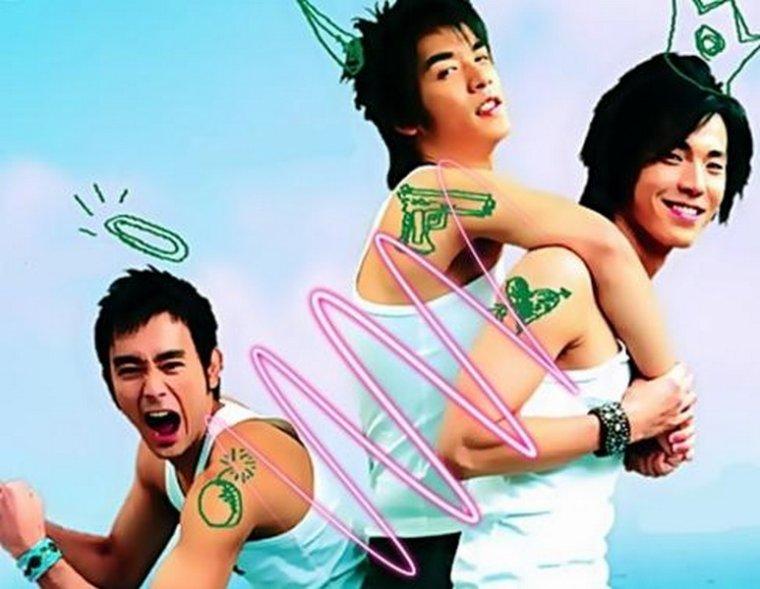 Go Go G-Boys : Film Taiwanias {Yaoi}