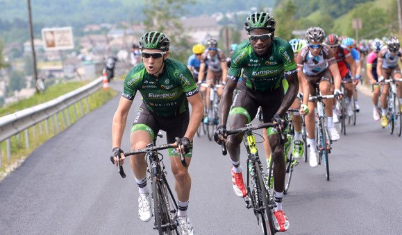 CYCLISME: KEVIN REZA SERA PRESENT PARMI LA SELECTION FRANCAISE POUR LES CHAMPIONNATS DU MONDE  CYCLISTE DANS LE TEAM EUROPCAR LE 28 SEPTEMBRE 2014 EN ESPAGNE.