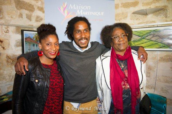 LES AMBASSADEURS SONT ARRIVES: A la Maison de la Martinique le 12 février 2015 à eu lieu la signature de la convention des Ambassadeurs de la Martinique. NISSIMA, escrimeuse (Epée), Marie-Laure CIMADURE (leader du basket-ball Martiniquais) et SAEL (chanteur de reggae) en présence de Serge Letchimy. Objectif: Mettre en lumière les talents de la Martinique afin d'encourager les plus jeunes à s'investir dans le sport et aussi à mener des actions de parainnage  en direction de ces mêmes jeunes. Reportage Photos Raymond MOISA.
