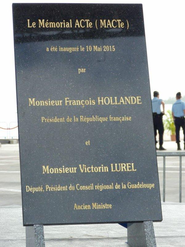 Ca y est, le Mémorial ACTE est inaugurée