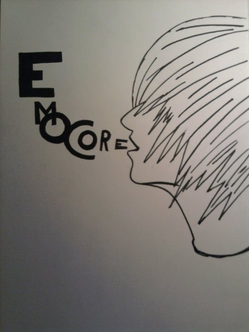 Dessin de style EMO fais par moi