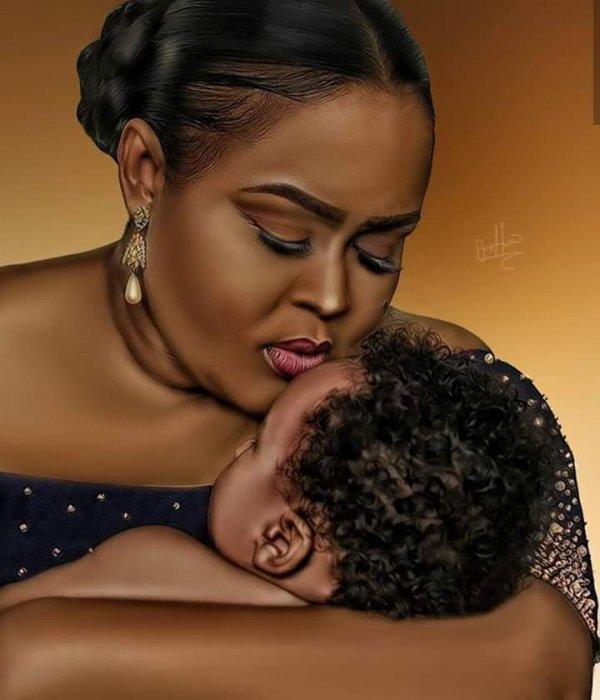 Femme noire, femme africaine.