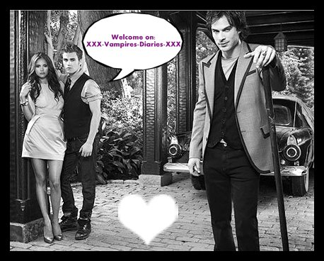 Bienvenue sur mon blog:XXX-Vampires-Diaries-XXX ♥