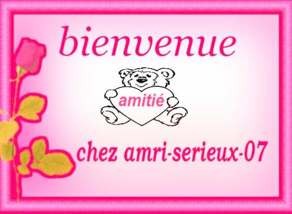 Bonjour et bienvenu sur mon blog =)^^