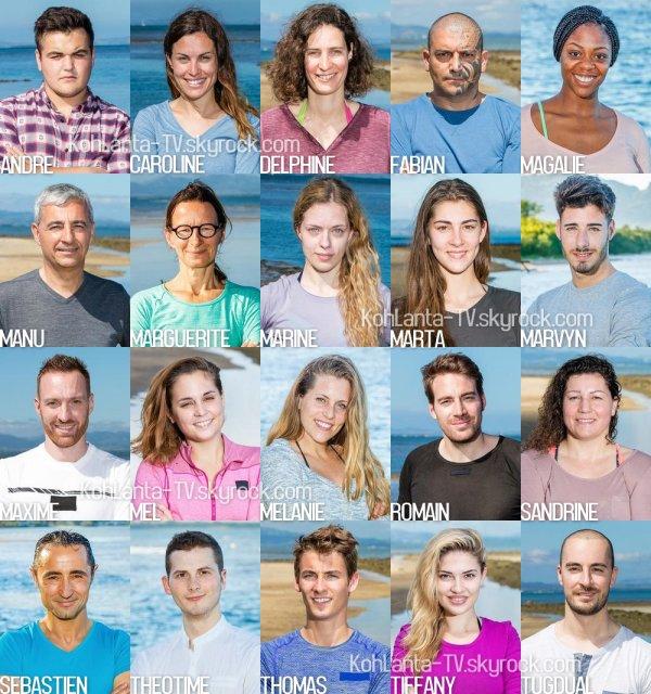 #KohLanta18 : Découvrez les 20 nouveaux aventuriers !