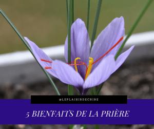 5 Avantages de la prière.(Eglise évangélique)