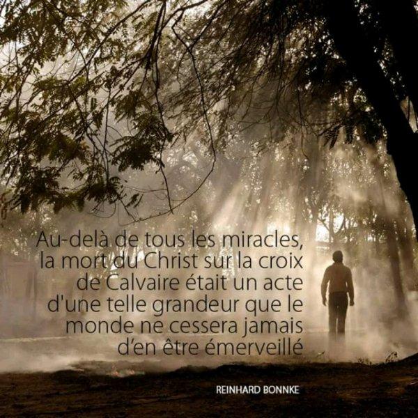 Le sacrifice de la croix