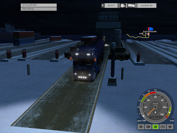 Voici ce que je fait en attendant d'être routier....