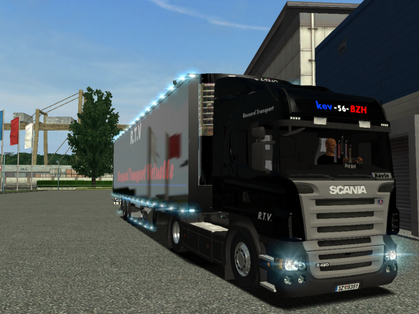 ETS, un de mes camions perso virtuels !