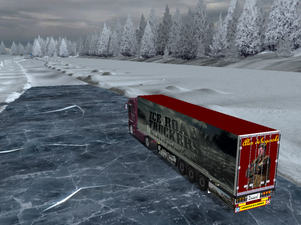 Les routes de glaces