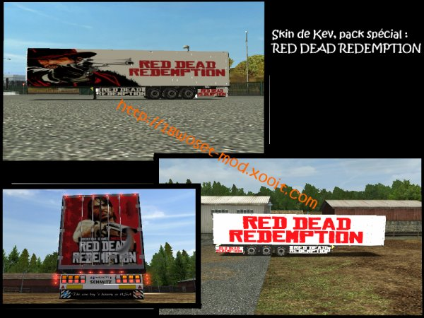 Création : RED DEAD REDEMPTION PACK's